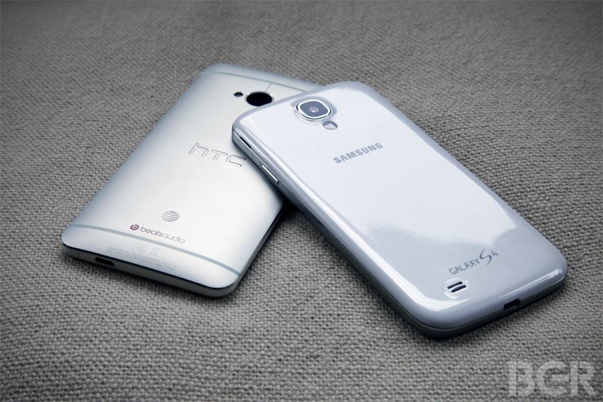 HTC One vs. Samsung Galaxy S4