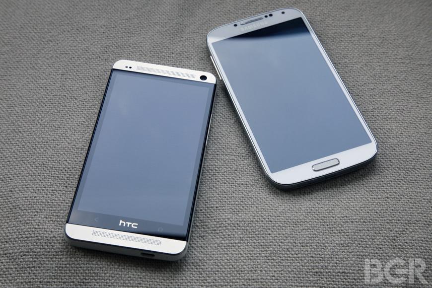 Samsung Galaxy S4 HTC One Benchmark