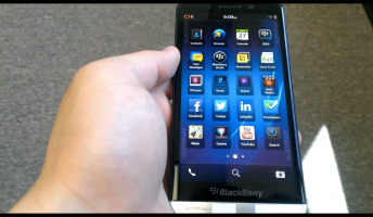 BlackBerry Z30 Leaked Video