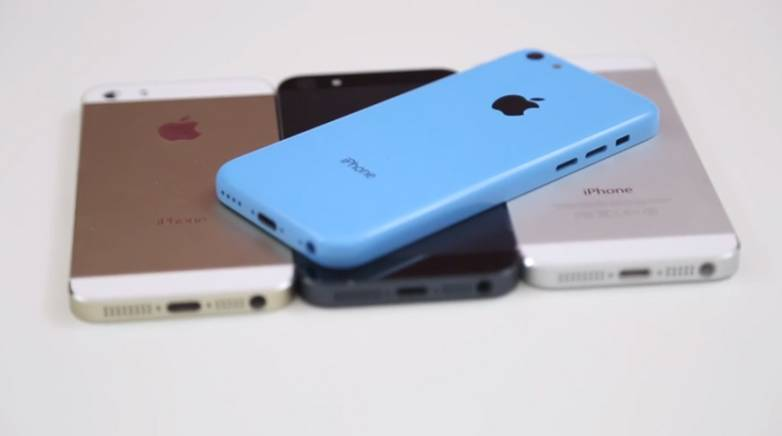 Gold iPhone 5S Hands-on