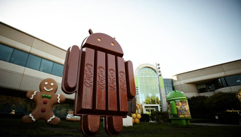 KitKat Android market share May 2014