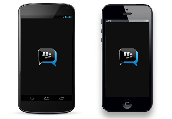 BBM iPhone Android Ads