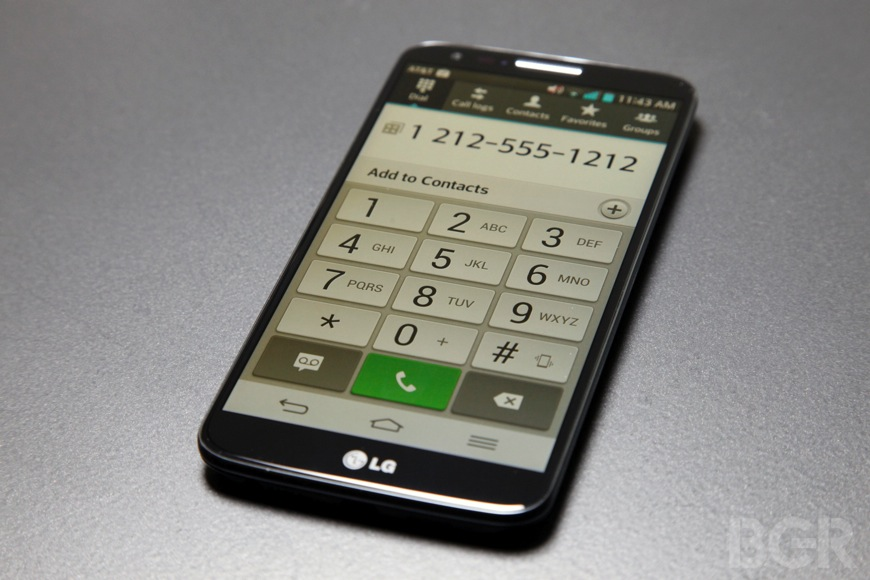 LG G2 Global Unit Sales