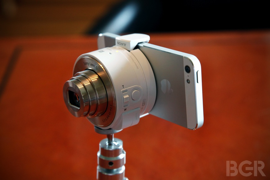 Sony QX10 and QX100 hands-on