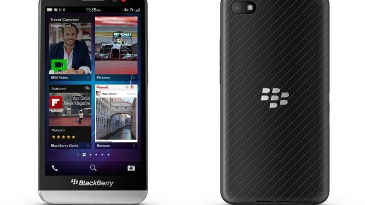 BlackBerry Z30 Typing Analysis