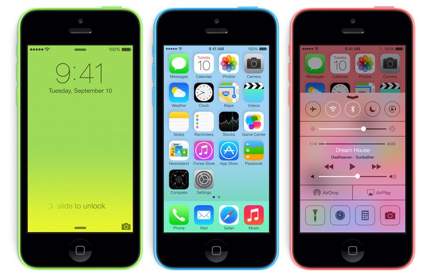 iPhone 5c Sales