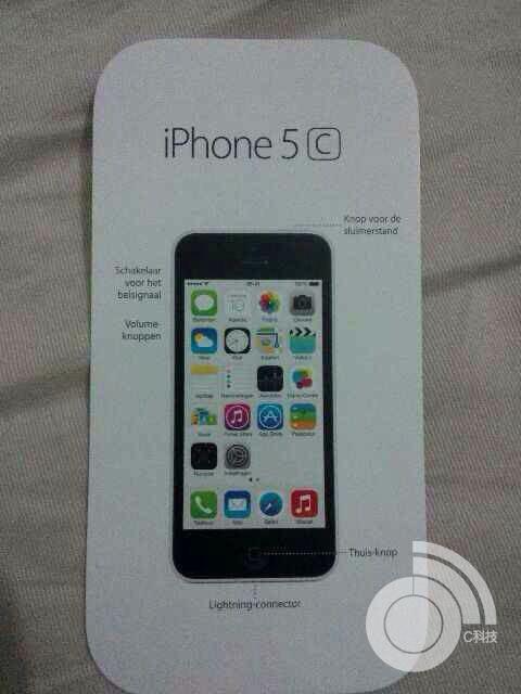 iPhone 5C Instruction Manual