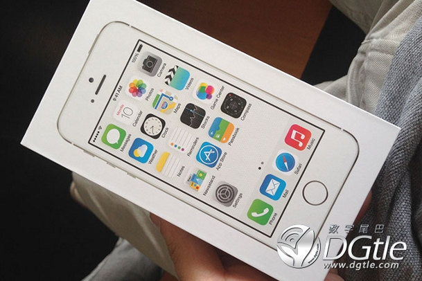 iPhone 5s unboxing 1