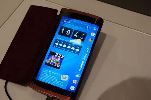 Samsung Curved Display