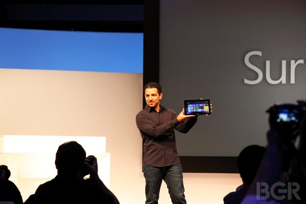 Microsoft Surface Sales Rise