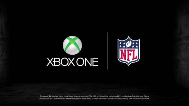 Xbox One Ad NFL and Skype