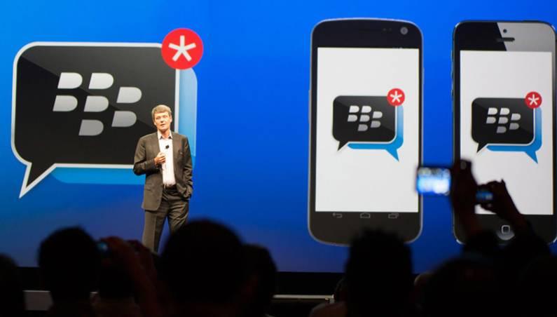 BlackBerry BBM Channels App Update