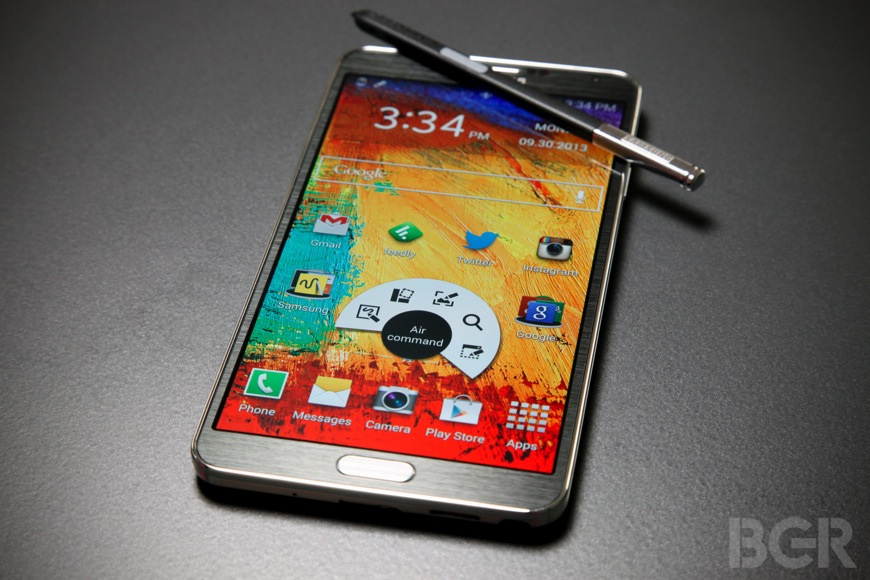 Galaxy Note 3 Android 4.4 KitKat Update