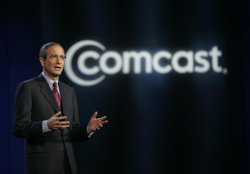 Comcast CEO Roberts Interview