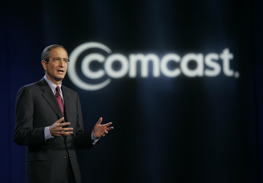 Comcast TWC Merger Dish Opposes