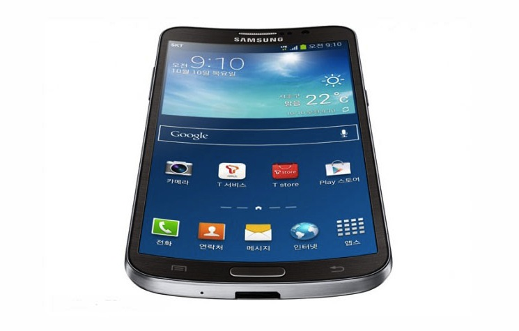 Samsung Galaxy Round Prototype