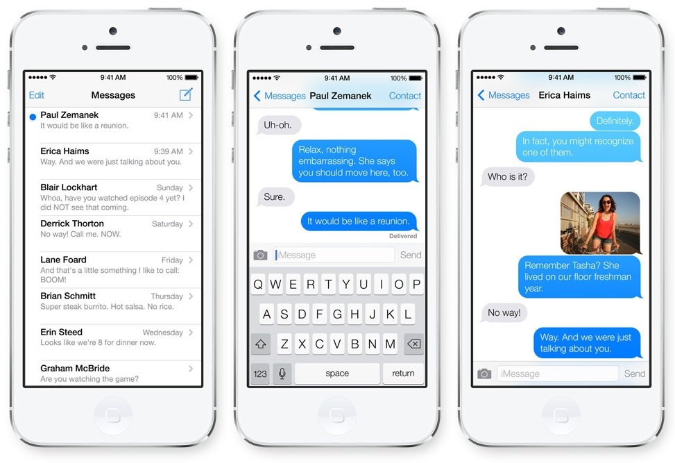 Apple iMessage Android Bug