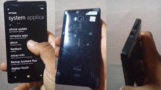 Lumia 929 Specs