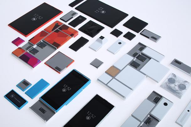 Motorola Project Ara Modular Smartphones