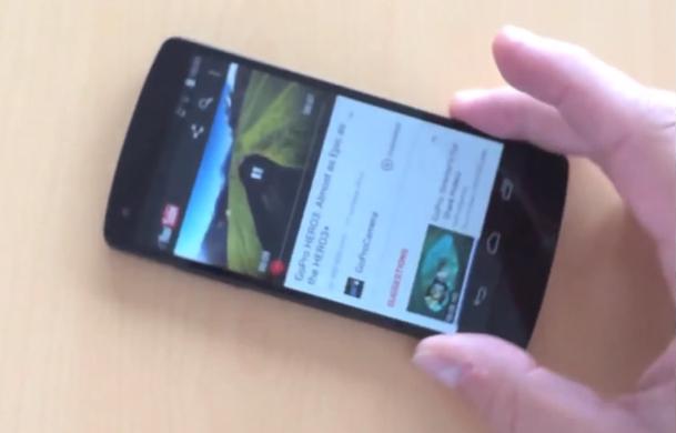 Nexus 5 Video Hands-on