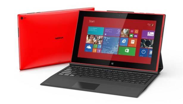 Surface 2 Lumia 2520 Comparison