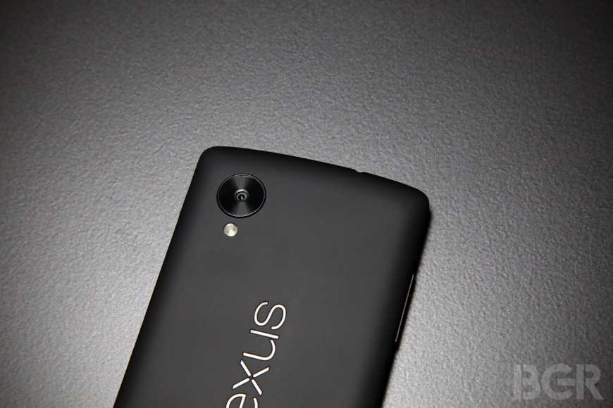 Nexus 5 Red Yellow Color Options