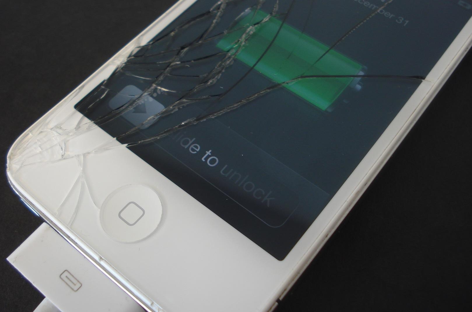 Broken iPhone Screen Upgrade Protector