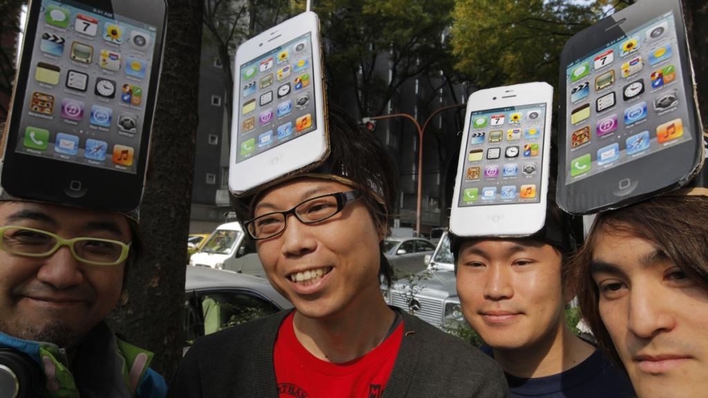 iPhone Market Share Japan
