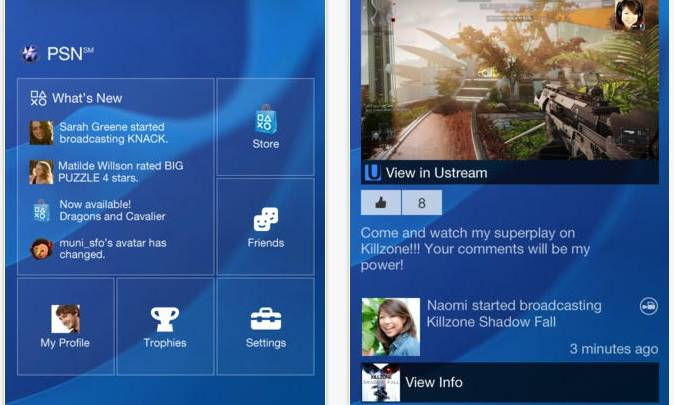 PlayStation App Now Available iOS Android