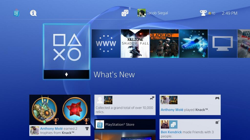 PS4 Review Screen 1