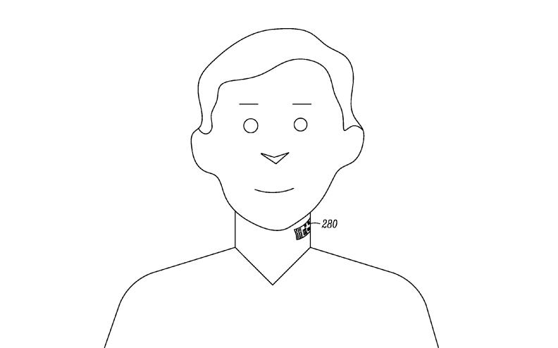 Motorola Smart Tattoo Patent