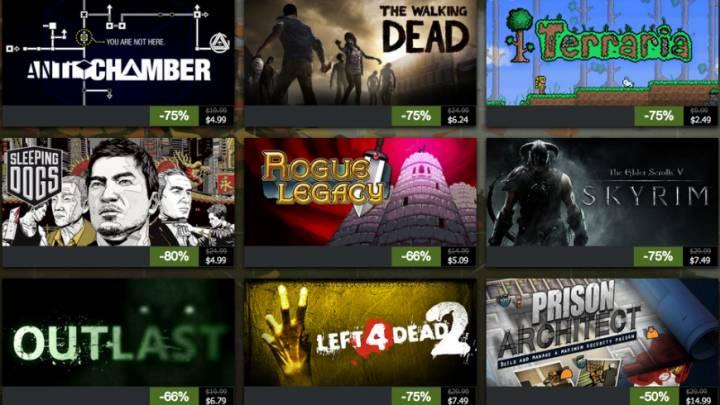 Steam Black Friday Game Deals