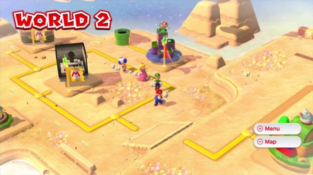 Super Mario 3D World Review 1