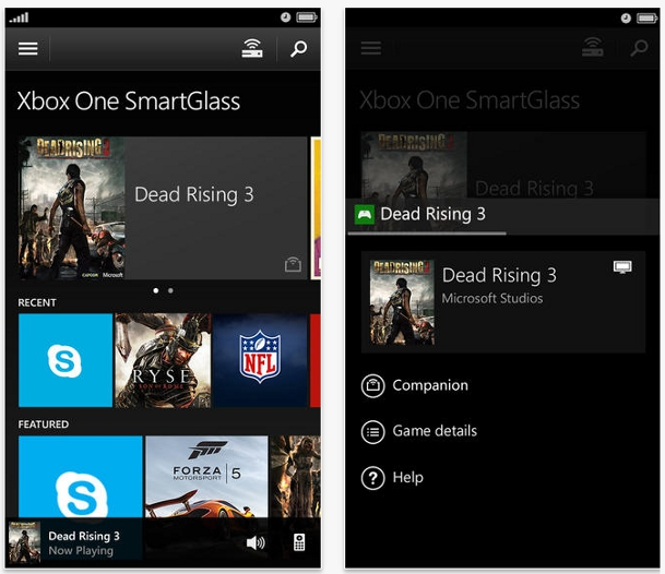 Xbox One SmartGlass app now available on iOS and Android
