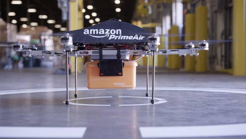 Amazon Drones Bird Sniper Threats
