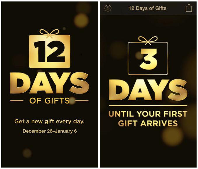 Apple Microsoft 12 Days of Christmas