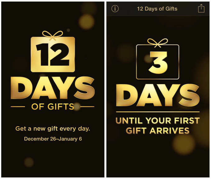 Apple Microsoft 12 Days of Christmas