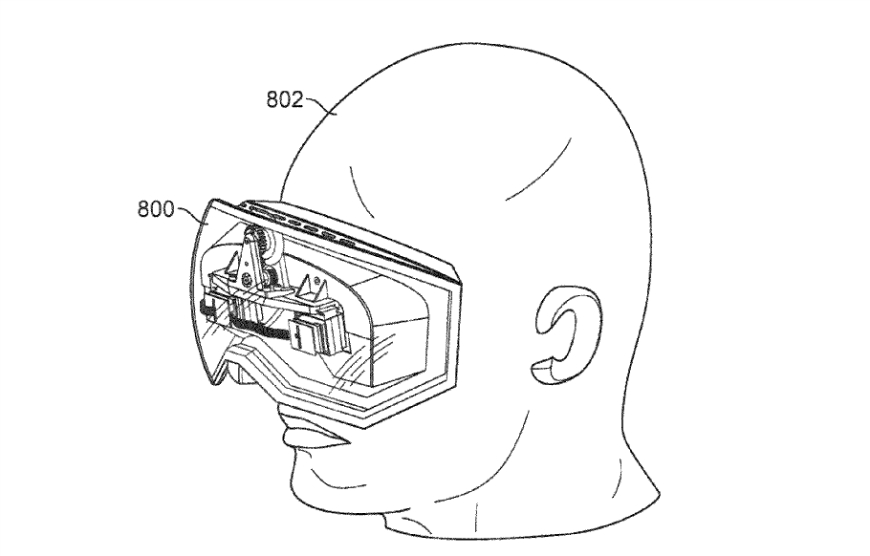 Apple Virtual Reality Goggles Patent