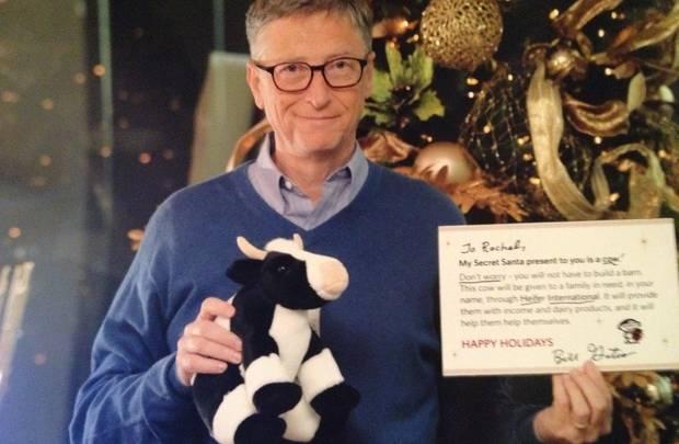 Bill Gates Secret Santa