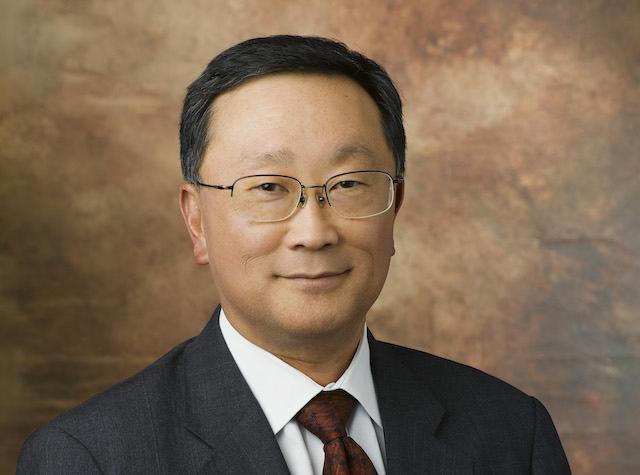 BlackBerry CEO Chen Interview