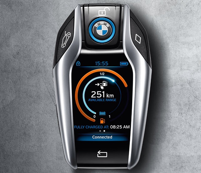 BMW i8 Computerized Key