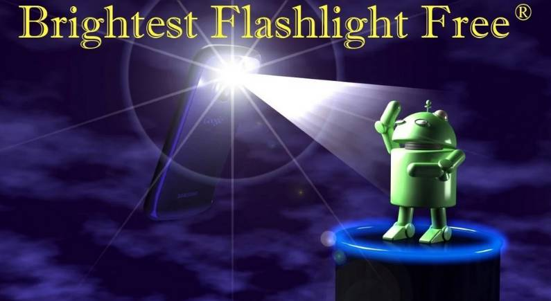Flashlight App Sharing Data