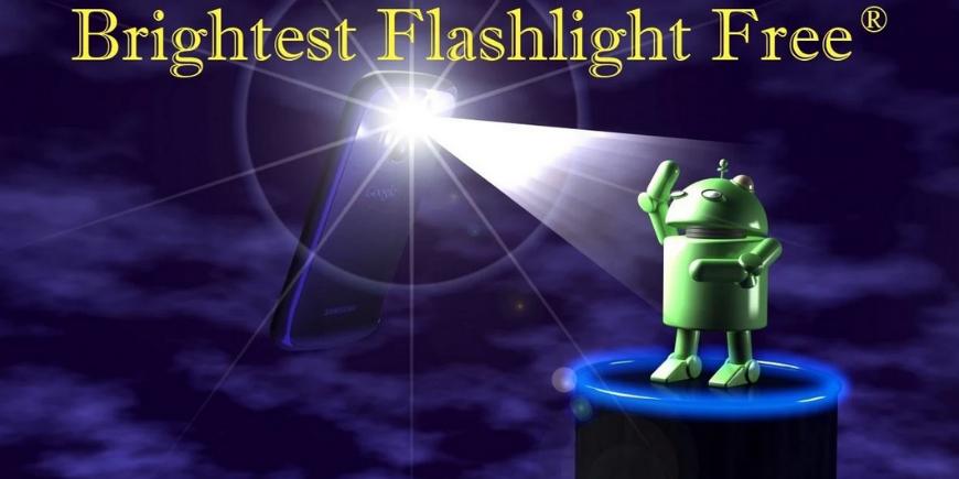 Brightest Flashlight app scam