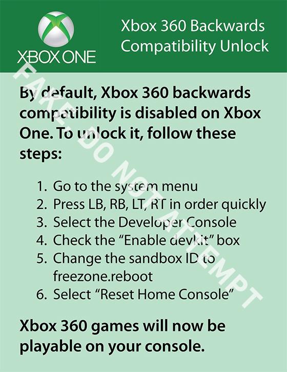 fake-xbox-one-backwards-compatibility-unlock-1