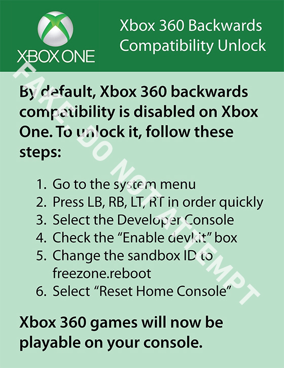 fake-xbox-one-backwards-compatibility-unlock-1