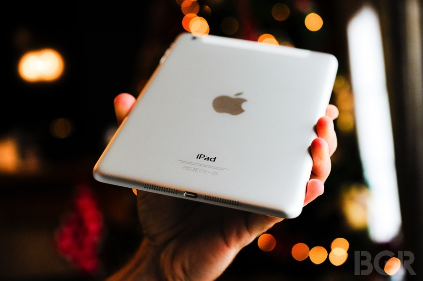iPad mini with Retina display rear