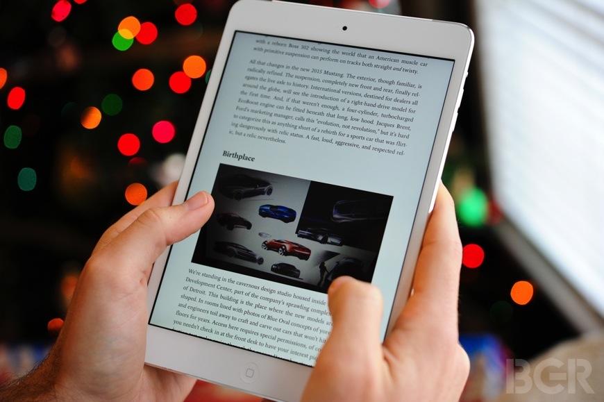 iPad mini with Retina display hands-on