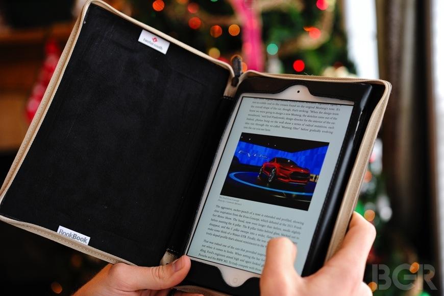 iPad mini with Retina display in BookBook Case