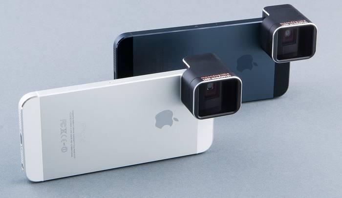 iPhone 5s Anamorphic Lens