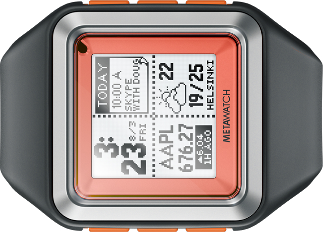 Metawatch High-end Smartwatch
